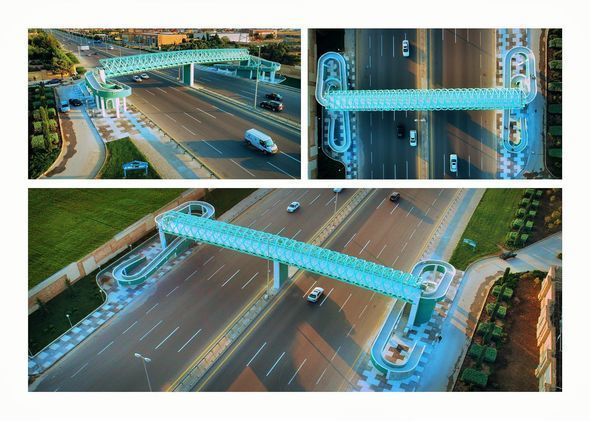 В Баку построен новый пешеходный переход