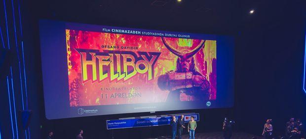 """""""CinemaPlus""""da """"Hellboy"""" fantastik filminin nümayişi"""