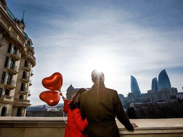 Bakı Avropanın ən romantik şəhərləri sırasında