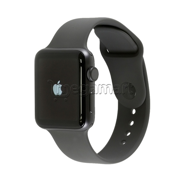 9f4e1f2c Смарт часы Apple Watch Series 3 42 мм Space Gray Aluminum Case with Black  Sport Band